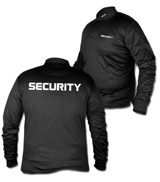Polo Long Sleeve Security shirt, tshirt,