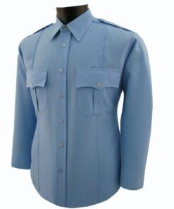 Mens 100% Polyester Security Shirt Long Sleeve. National Patrol - shirts - uniforms - guards - the uniform hub