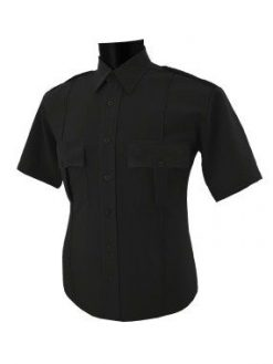 Mens 100% Polyester Security Shirt Short Sleeve. National Patrol