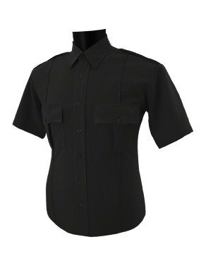 Mens 100% Polyester Security Shirt Short Sleeve. National Patrol
