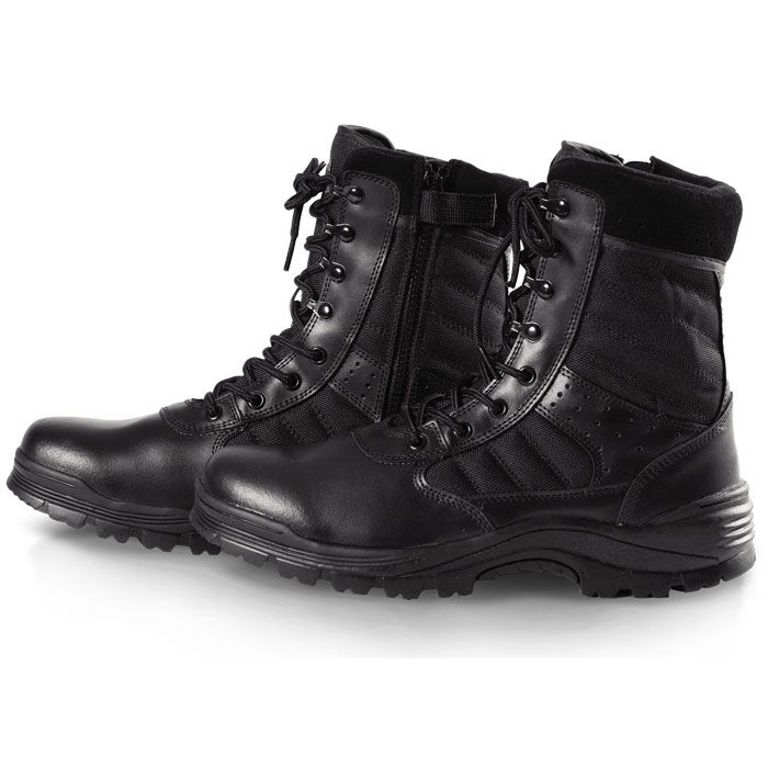 Sentry 8 inch Side-Zip Boots - Tactsquad