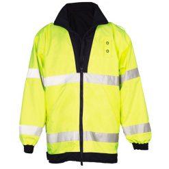 United Uniform Mfr. Ultimate Lightweight Reversible Raincoat ANSI 3 NY