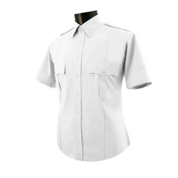 Mens Poly/Cotton Security Shirt Short Sleeve. National Patrol