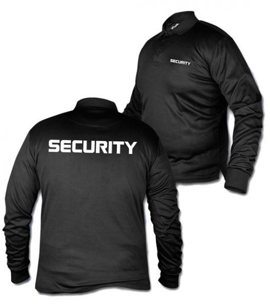 Polo Long Sleeve Security shirt, tshirt,