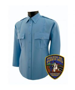 Camisa Clase A Policia Puerto Rico Parche Patch