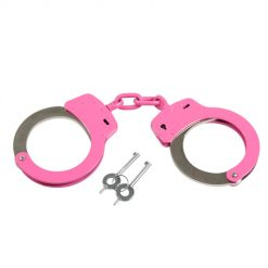 Rothco Pink Handcuffs With Belt Loop Pouch
