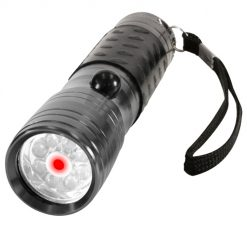 Rothco LED Flashlight w/ Red Laser Pointer