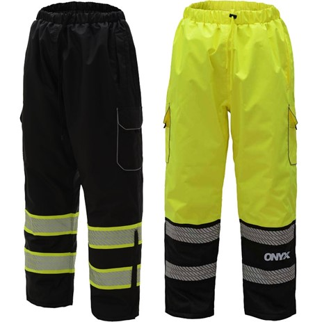 ONYX CLASS E WINTER QUILTED PANTS W/ 2 CARGO POCKETS
