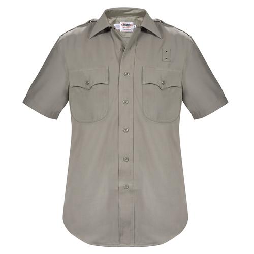 Elbeco Mens, Tan, California Highway Patrol Short Sleeve Shirt