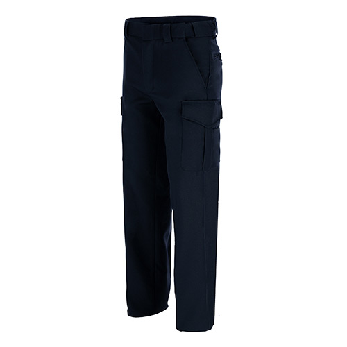 Men's 100% Polyester Uniform Trousers with Cargo Pockets