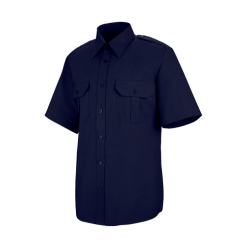 Men's Hex Style Pocket - Poly / Coton Security Short Sleeve Shirt
