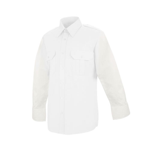 Women's Hex Style Pocket - Poly / Coton Security Long Sleeve Shirt