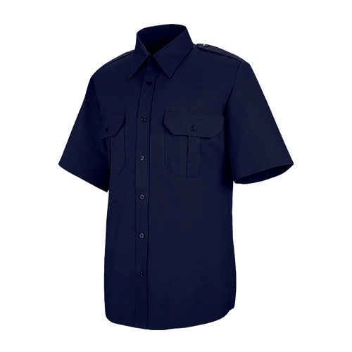 Women's Hex Style Pocket - Poly / Coton Security Short Sleeve Shirt